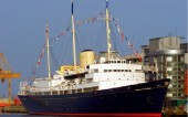 Enjoy an exclusive meal on the Royal Yacht Britannia, an elegant evening after a satisfying day of your Scottish Golf Trip