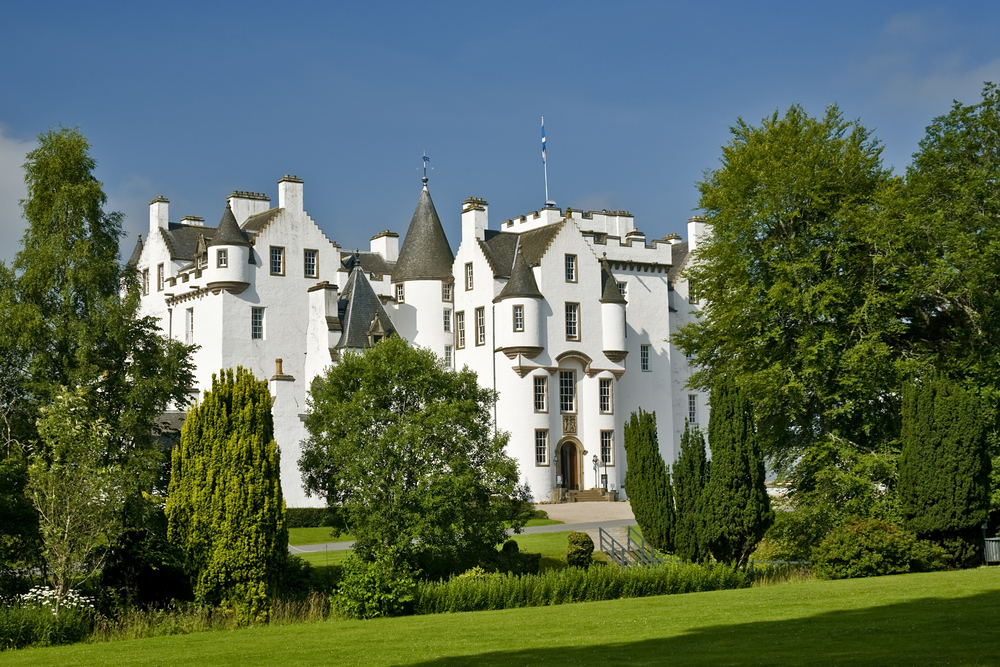Take a peek inside the Jacobite Blair Castle, and explore the historic contents within on your Scottish Golf Trip