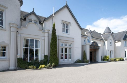 Luxury golf tours Scotland - best of accommodation The Highlands